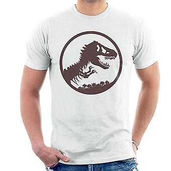 Jurassic Park T Rex Skeleton Icon Men's T-Shirt