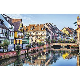 Wallpaper Mural Colorful French Houses In Colmar (400x260 cm)