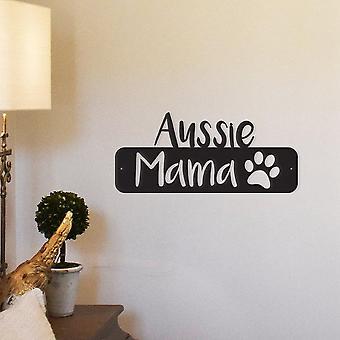 Aussie Mama Metal Wall Art/decor