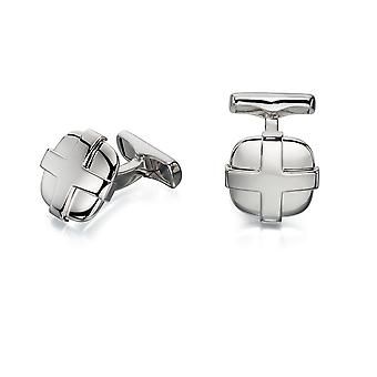 Fred Bennett Cufflink with Cross Over Lay