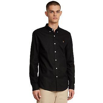 Farah Brewer Slim Shirt - Black
