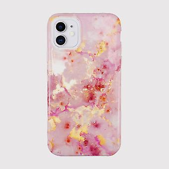 Eco Friendly Printed Pink Marble iPhone 11 Case