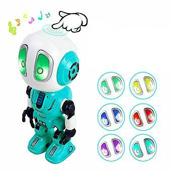 Recording Talking Educational Robots Led Lights Alloy Birthday