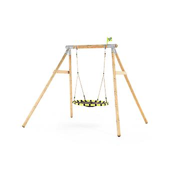 TP Toys Eagle Wooden Swing Set With Giant Nest Swing