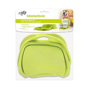 Lucky Treat Silicon Pet Food Pad Dog Bowl Mat Silicone No Mess