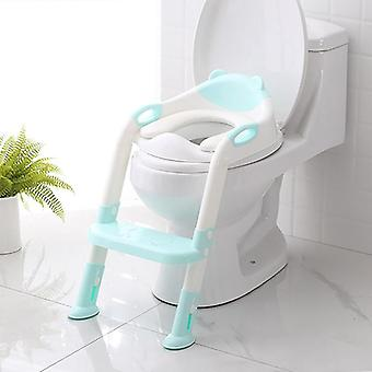 Folding Potty / Toilet Training Seat With Ladder