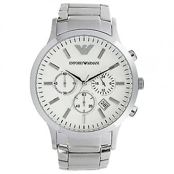 Armani AR2458 Emporio Gents Silver Stainless Steel Watch