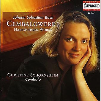 J.S. Bach - Johann Sebastian Bach: Cembalowerke [CD] USA import