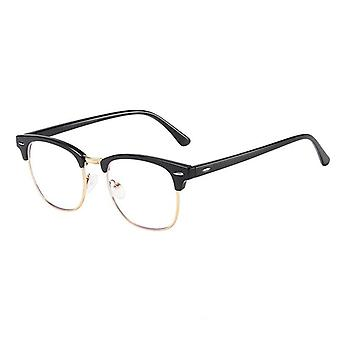 Semi Rimless, Anti Blue Light Ray Eyeglasses Cadres
