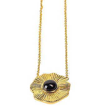 Kosma Paris Flora Women's Necklace - Black Dor