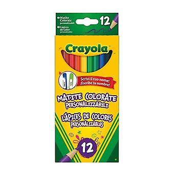 Pencil Set Crayola Customisable (12 pcs)