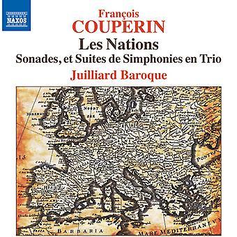 Couperin / Juilliard Baroque - Les Nations [CD] USA import