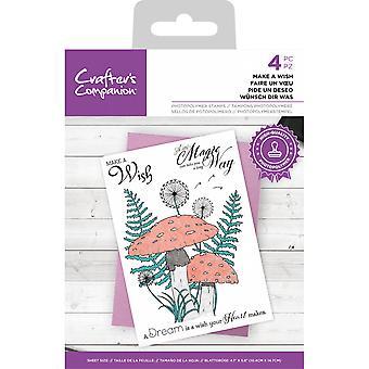 Crafter's Begleiter machen einen Wunsch klar Briefmarken