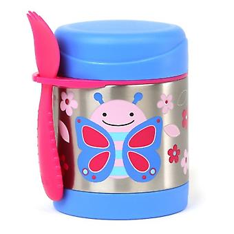 Skip Hop Zoo Thermos Food Jar Butterfly