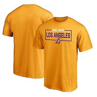 Los Angeles Lakers Korte T-shirt Sports Tops 3DX043