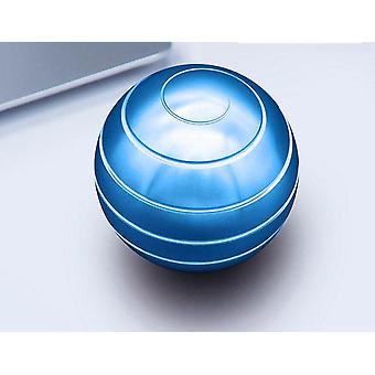 Kinetic Round Metal Spinner