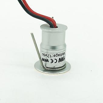 Ip65 1w 12v Dc 15mm Mini Led Spotlight For Cabinet Stair Wall Spot Lighting