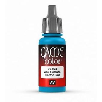 Vallejo Game Color 17ml Acrylic Paint 23 Electric blue
