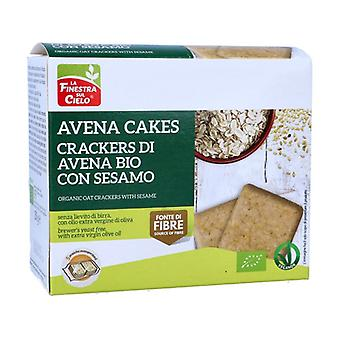 AVENACAKES CRACKERS DI AVENA WITH SESAME 250 g