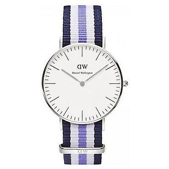 Ladies Daniel Wellington (0609DW) Trinity Silver 36mm Watch