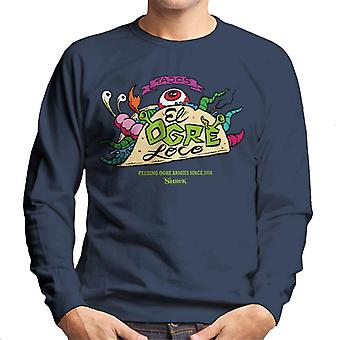 Shrek Tacos El Ogre Loco Mænd's Sweatshirt