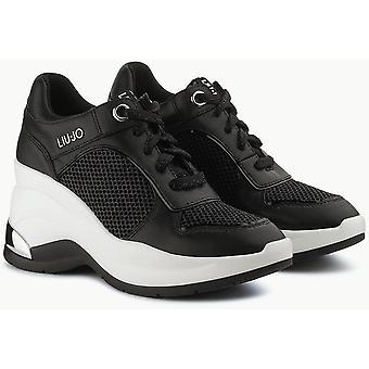 Karlie Revolution 20 Wedge Sneaker Negro