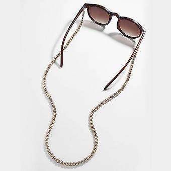 ファッション眼鏡チェーンワイドアクリルアンチスリップ調整可能なアイウェアコードホルダー
