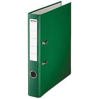 Rapid A4 Folder Lever Arch File 50mm Polypropylene/Paper with Metal Shoe Green