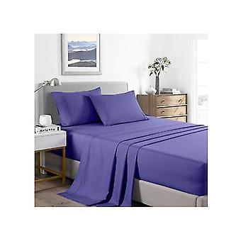Casa Decor 2000 Tc Bamboo Cooling Sheet Set Soft Bedding Royal Blue