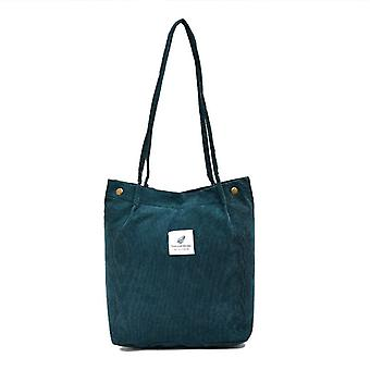 Women's Large Size Canvas Shoulder Casual Tote Bag