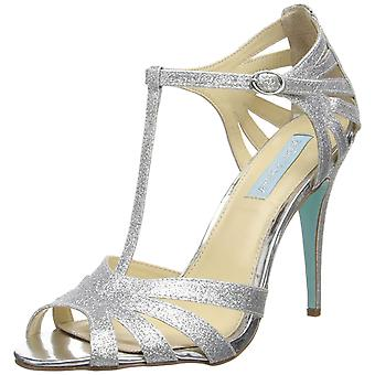 Betsey Johnson Womens TEE Open Toe T-Strap Classic Pumps