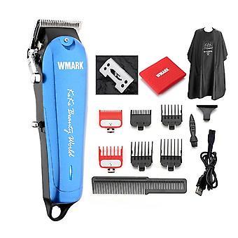 Professional Langaton Hiustenleikkuri 6500-7000 Rpm Trimmer Säädettävä leikkuri