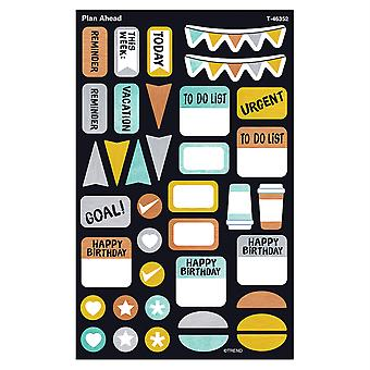 I Metal Plan Ahead Supershapes Stickers - Grand, 304 Comte