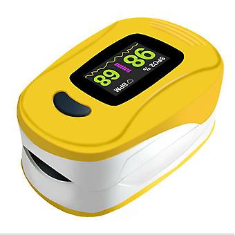 Fingertip Pulse Oximeter Sp02 - Yellow Finger clip oximeter