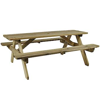Heartfordshire Picnic Table - 8 Seater