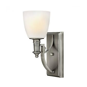 Lámpara De Pared Truman, Níquel Antiguo, 1 Bombilla