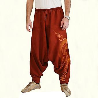 Mężczyźni&s Hip Hop Baggy Harem Spodnie
