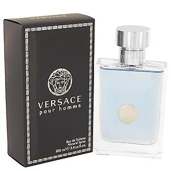 Versace Pour Homme Eau De Toilette Spray von Versace 3.4 oz Eau De Toilette Spray