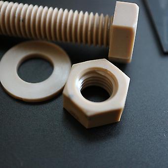 5 x PEEK Hex Head Screw M10 x 65mm Nuts & Bolts