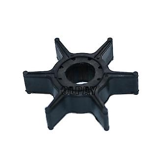 Water Pump Impeller For Yamaha 9.9hp 15hp 20hp Boat Engine (black)