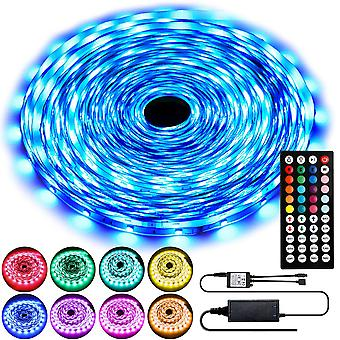 Rgb 5050 Color Changing Led Light Strips Kit With 44 Keys Ir Remote
