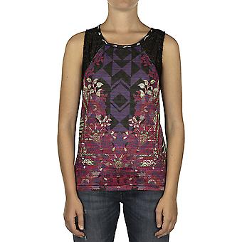 Custo Barcelona Women Tank Top Waitaia Multicolor