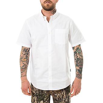 Chemise homme carhartt bouton wip bas chemise de poche blanche i027498.02