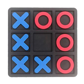 Tic Tac Toe Cognitive Learning Ox Chess Puzzle Board Game