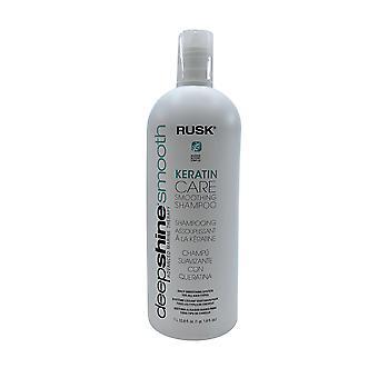 Rusk Deep Shine Smooth Keratin Care Shampoo 33.8 OZ