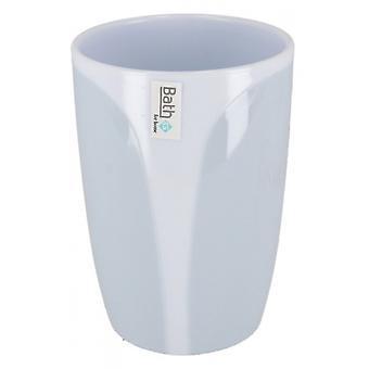 bathcup Napoli 350 ml white/blue