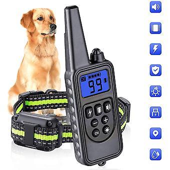 Dog training collar bark-stop shock shock  training training aids