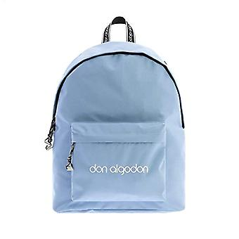 Casual Nylon Backpack with Don Cotton Blue USB Port