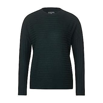 Street One 315533 T-Shirt, Green Melange, 48 Woman