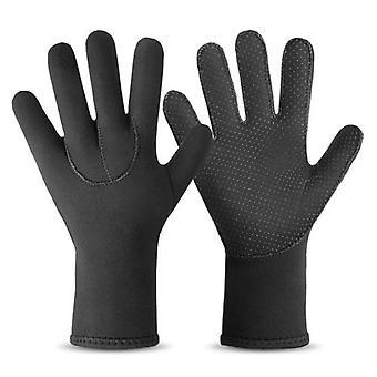 Neoprene Diving Gloves Five Finger Wetsuit Gloves for Men and Women Scuba Diving Snorkeling Surfing Kayaking